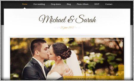 Best wedding website examples tbrbfo wedding website example 1 thuringer 2017 pinterest junglespirit Choice Image