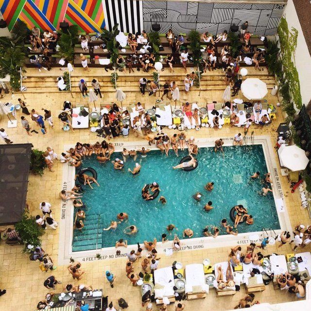 10 Pools You Re Probably Missing Out On In Nyc Hotel Pool Party Nyc Rooftop Cool Pools