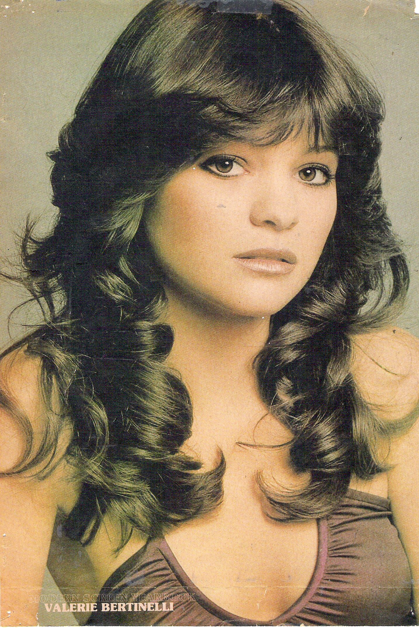i had this valerie bertinelli poster as a kid. may still