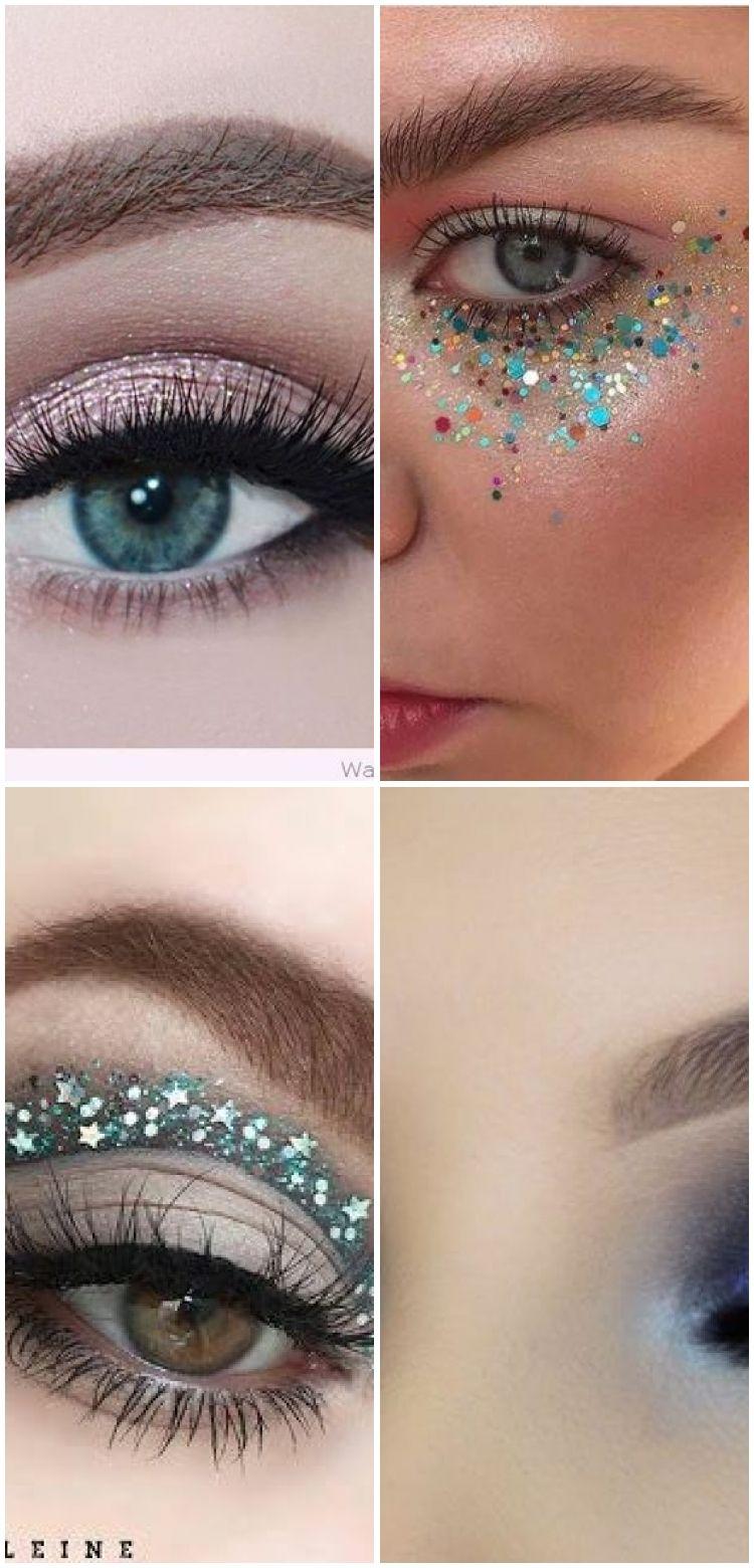 Photo of Make-up Glitzer Gesicht funkeln 31+ Ideen für 201