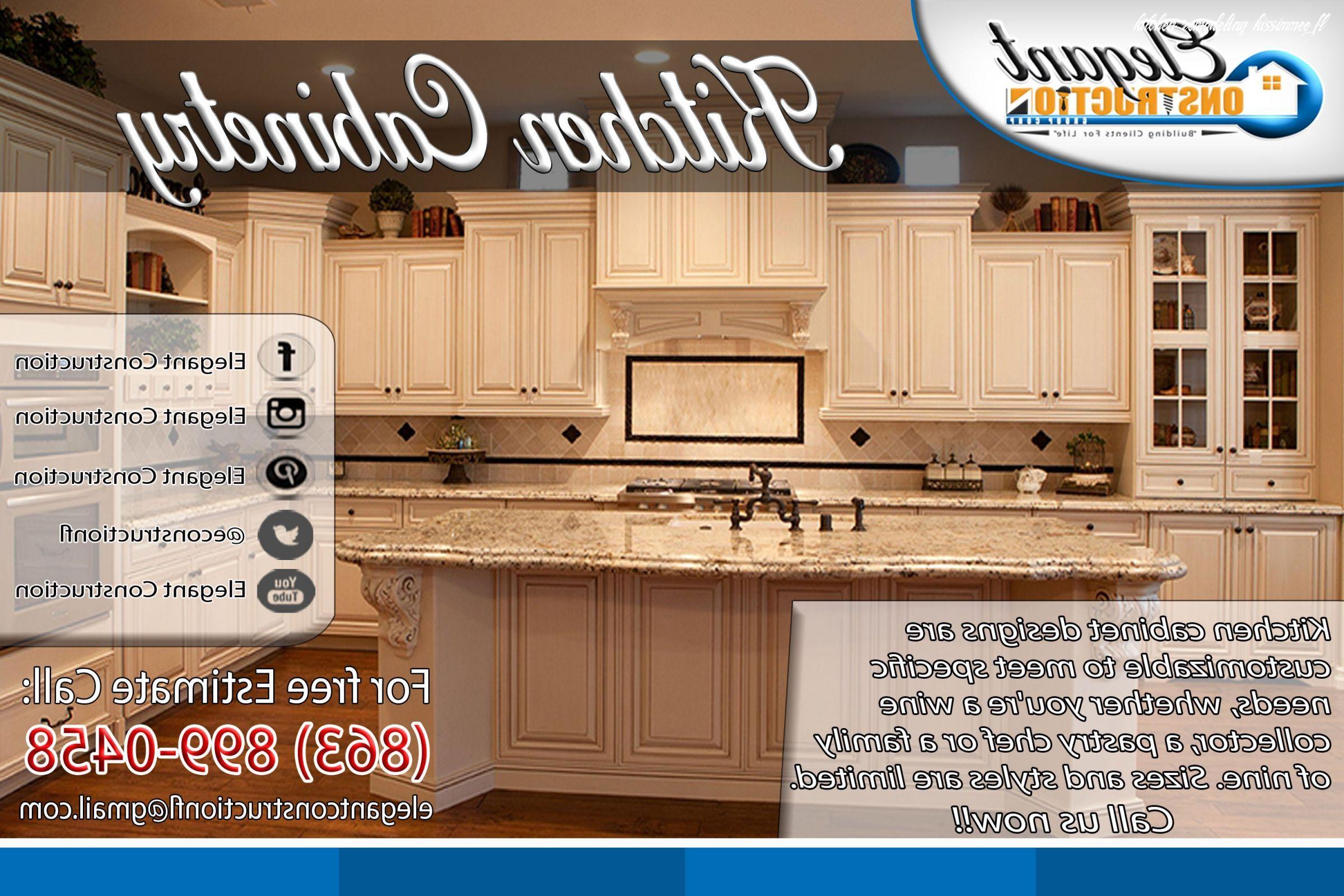 Kitchen Remodeling Kissimmee Fl In 2020 Kitchen Remodel Kitchen Remodel