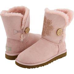 Cozy pink UGGs