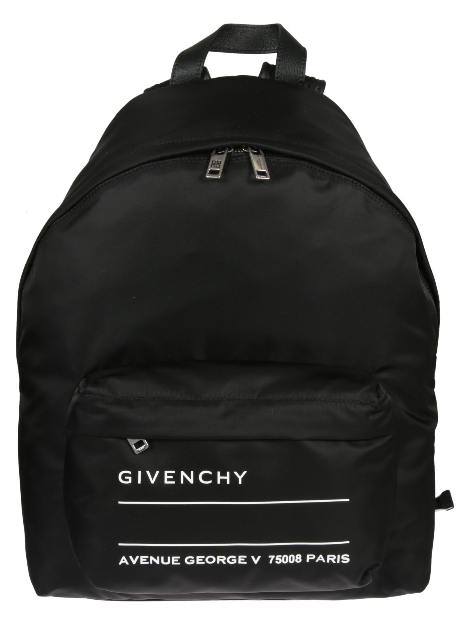 GIVENCHY TEXT LOGO BACKPACK.  givenchy  bags  backpacks    67948be76a023