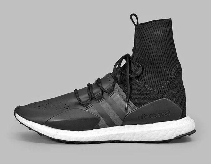 Ir al circuito híbrido mentiroso  adidas Is Turning the Ultra Boost into a High Top Lifestyle Sneaker |  Zapatos, Adidas, Playeras