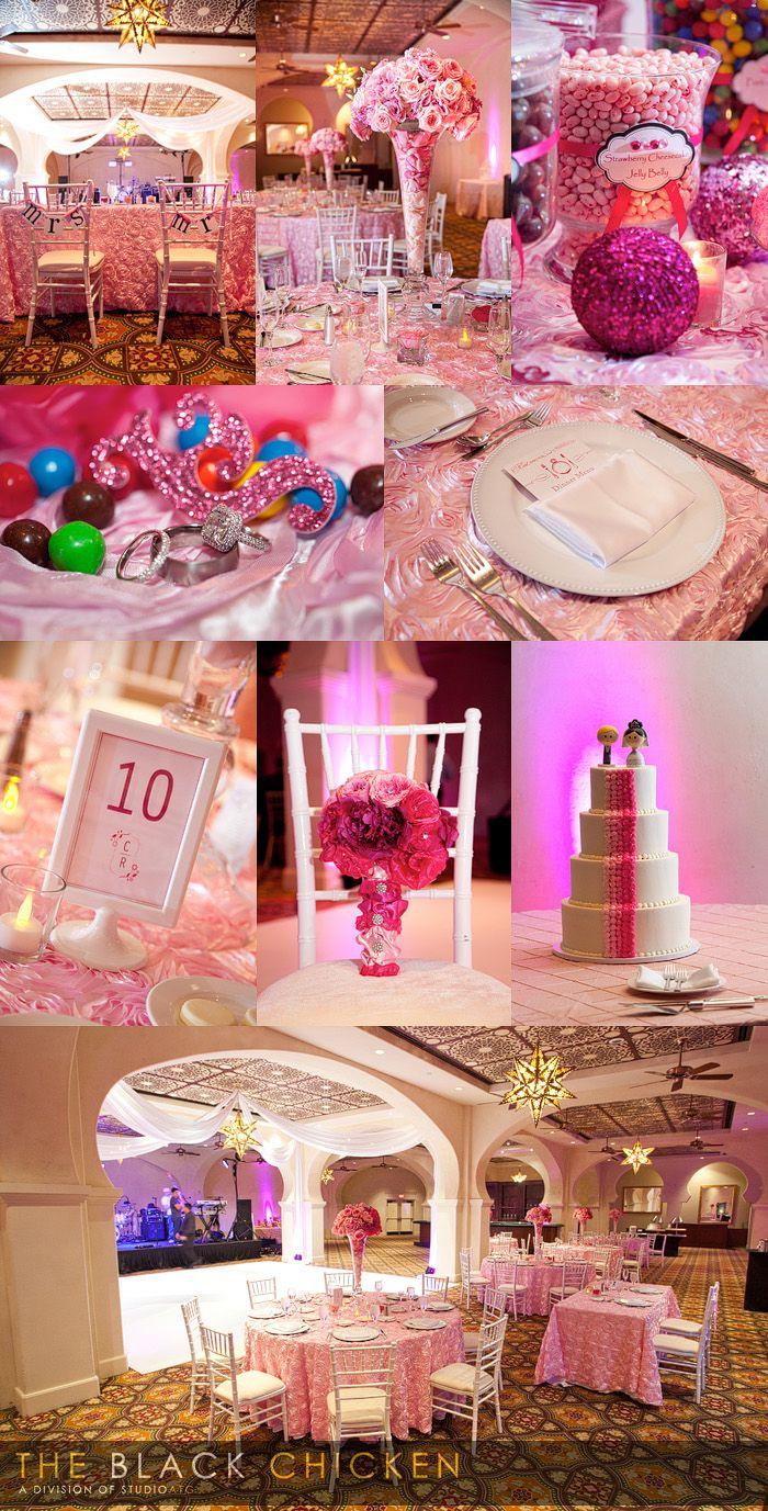Westin Lake Lake Las Vegas Wedding Reception Pink | Westin Lake Las ...
