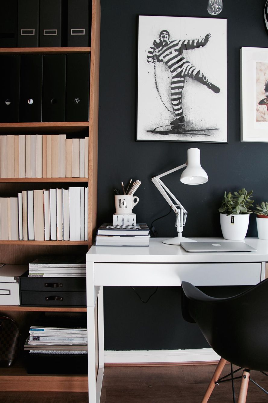 Stylish home office as seen in Homestyle