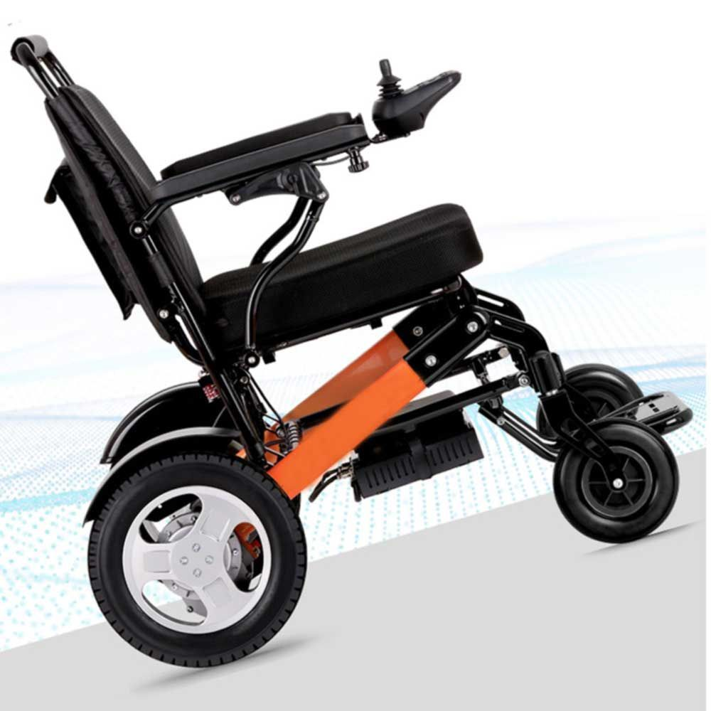 D10 Lightweight Folding Electric Wheelchair in 2020
