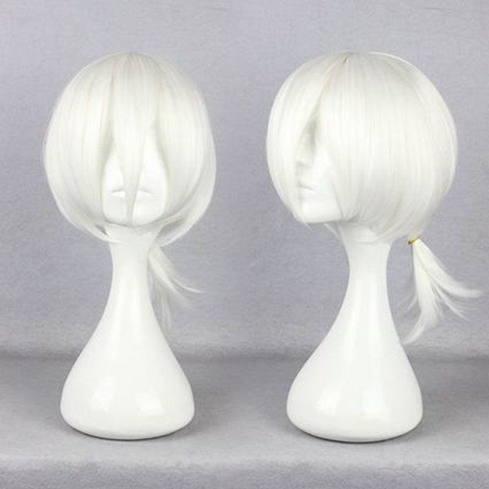 Onecos Anime Kagerou Project Konoha White Wig Hairpiece Cosplay Want Additional Info Click On The Image Anime Wigs Cosplay Wigs Wig Party