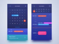 Calendar Calendar Design Calendar App App Design Inspiration