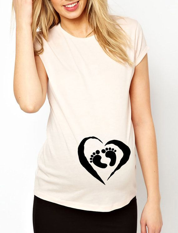 Ladies MATERNITY T-Shirt WATERMELON Smuggler Womens Pregnancy Baby Gift