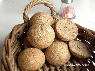 Chiamelsboller eller frokostboller med chiamel på CDJetteDCs LCHF