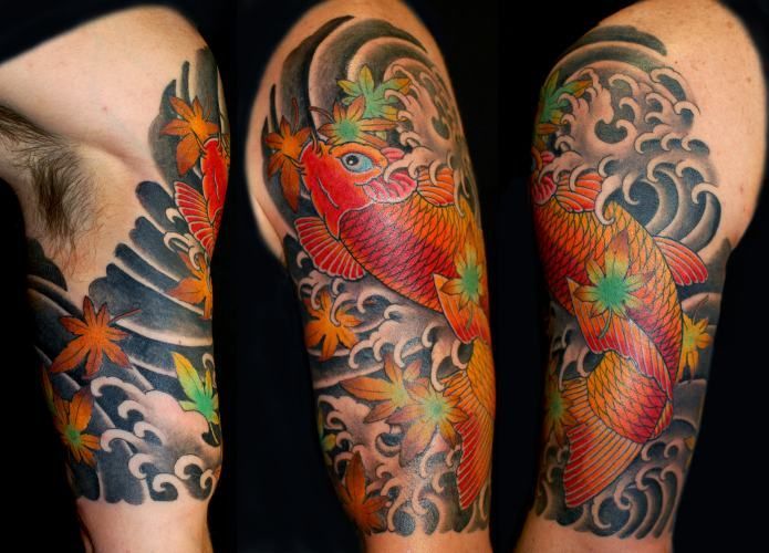 Dise o de koi japon s japan tattoo pinterest dise o for Koi japones
