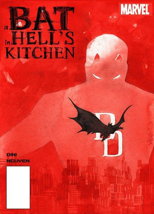 Daredevil - A Bat in Hell's Kitchen by Dustin Nguyen *