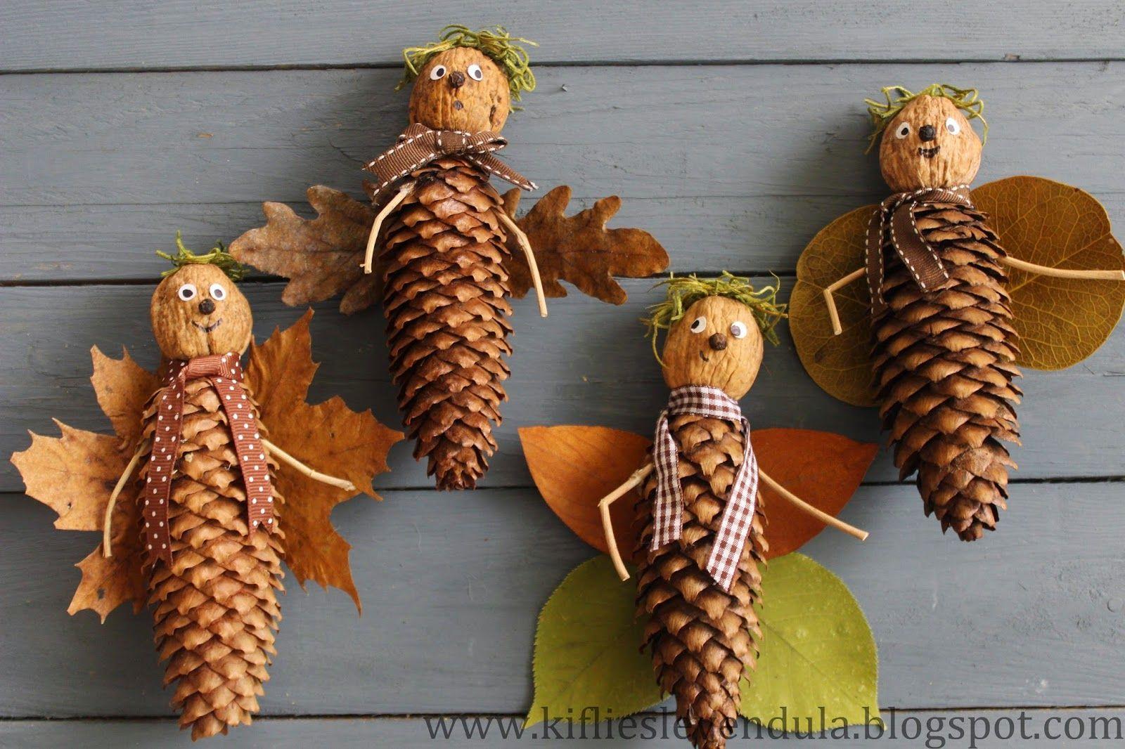 благодарность картинки поделок из шишек и листьев животе твоём