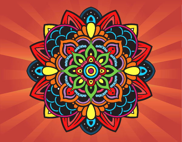 Mandala Colorida Pesquisa Google Mandala Colorida Desenhos