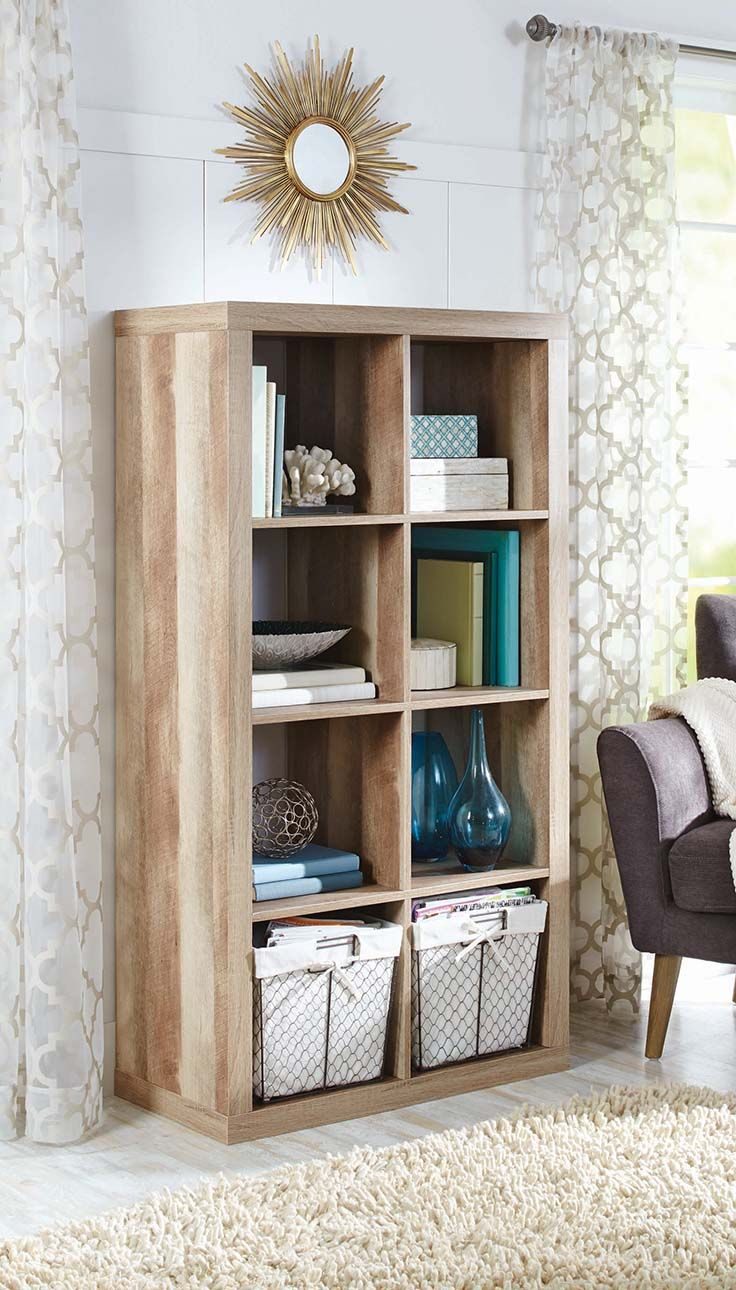 Better Homes And Gardens 8 Cube Organizer I Want 3 To Make A Library Built In Look
