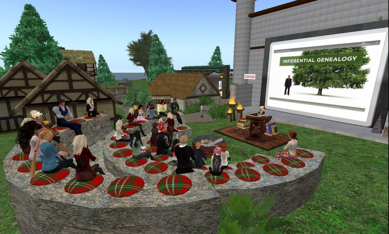 Inferential Genealogy Course in Second Life - Case Study 1 - Don't let any more opportunities go by in capturing the knowledge of your aging family generations, capture it and get it online with our help