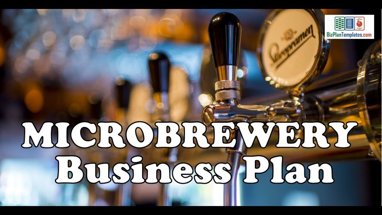 MICROBREWERY BUSINESS PLAN Template with example