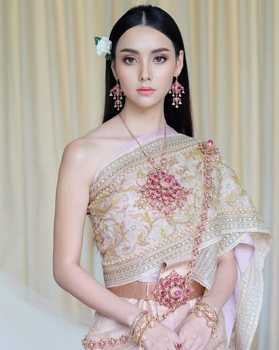 Pin by zaw nattha on นางในวรรณคด pinterest thai dress