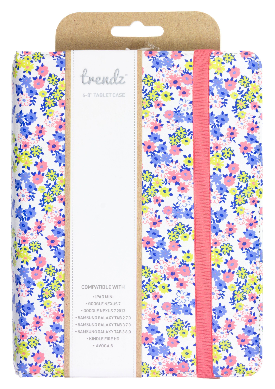 """Trendz Universal 68"""" Tablet Case in Ditsy Floral Design"""