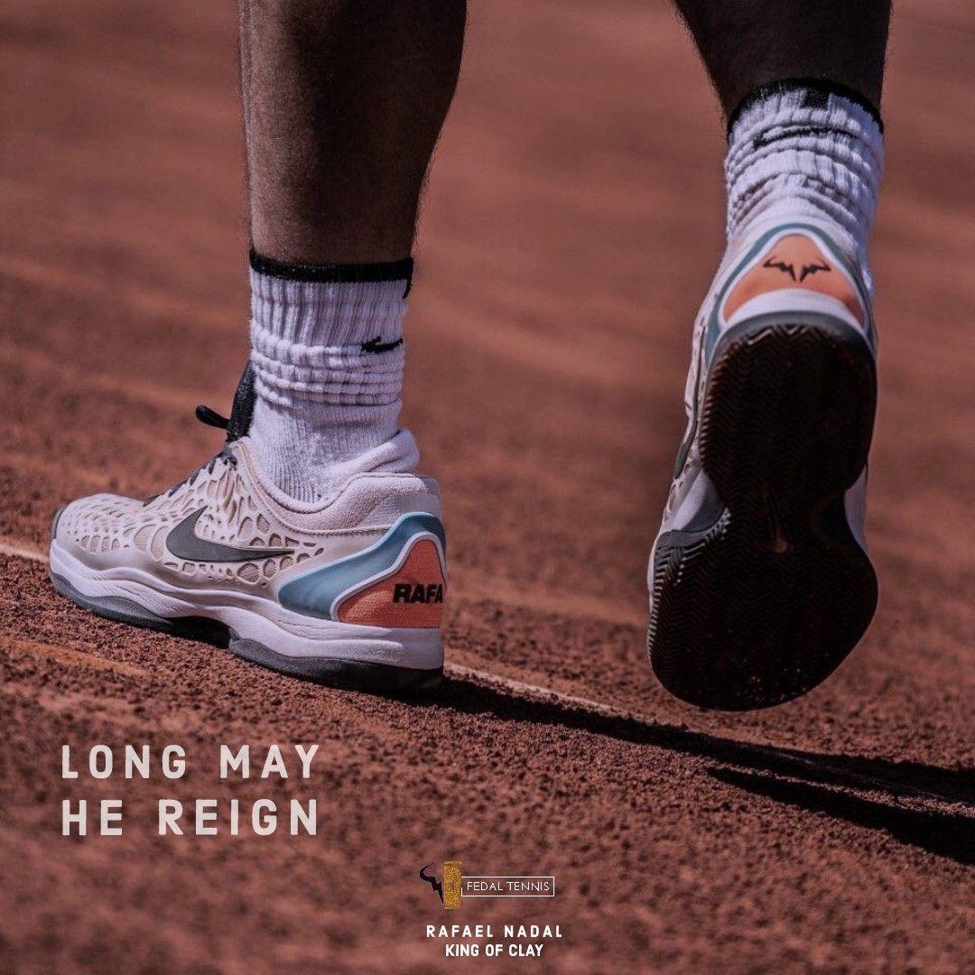 Long May He Reign Fedal Tennis Air Max Sneakers Rafael Nadal Tennis