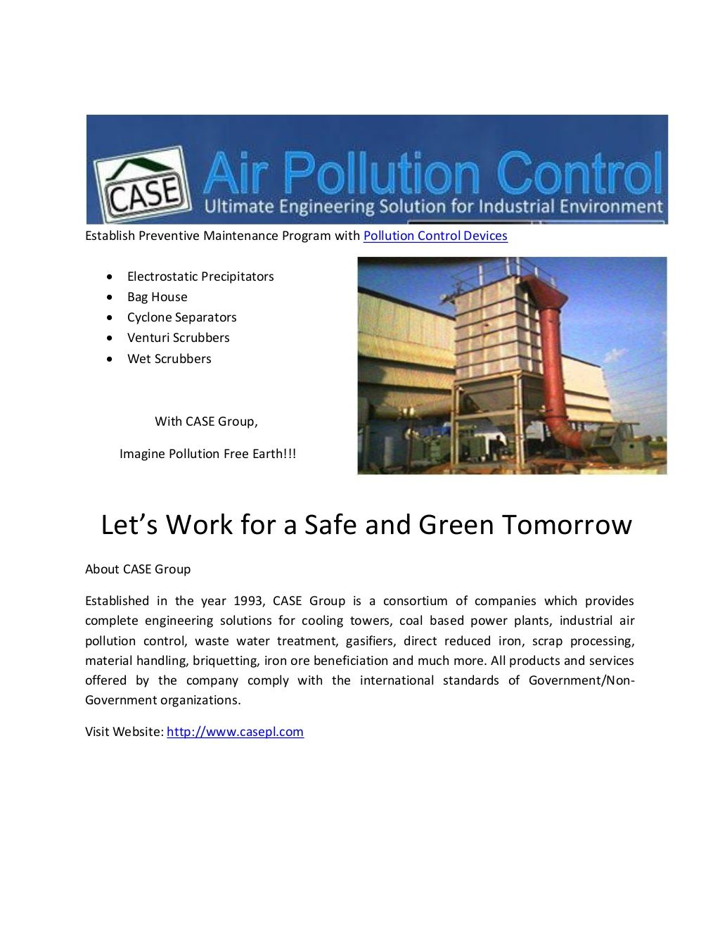 My Latest Share Air Pollution Slide Show on Slide Share