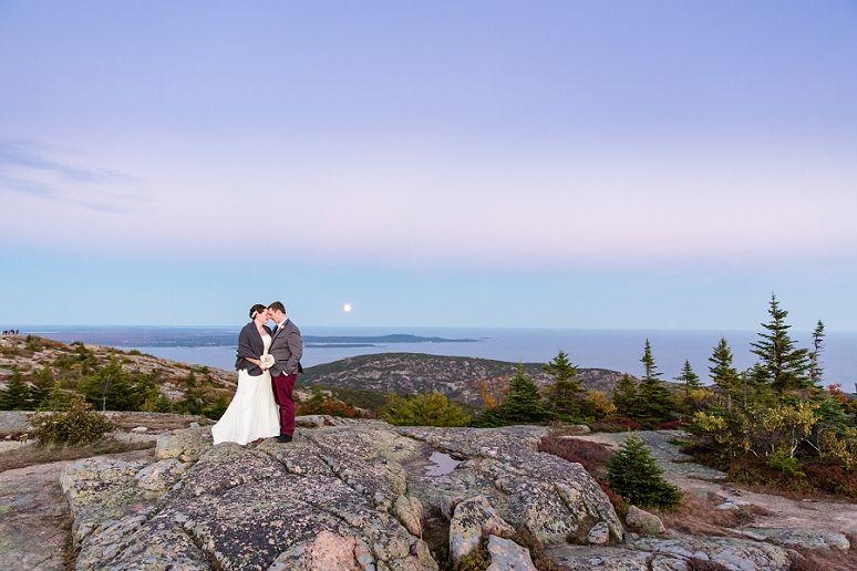 Lexi Matt Photography Bar Harbor Maine Wedding Photographer Acadia National Park Coastal Bride And Groom Portrait