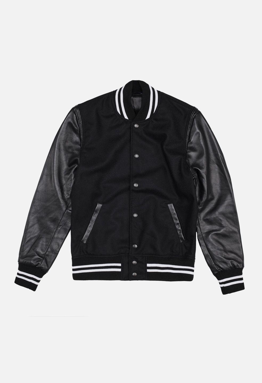 Wool Stadium Jacket Black John Elliott Jackets Mens Outfits Menswear [ 1440 x 984 Pixel ]