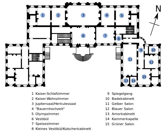 grundriss schloss nordkirchen schloss nordkirchen wikipedia historische grundrisse. Black Bedroom Furniture Sets. Home Design Ideas