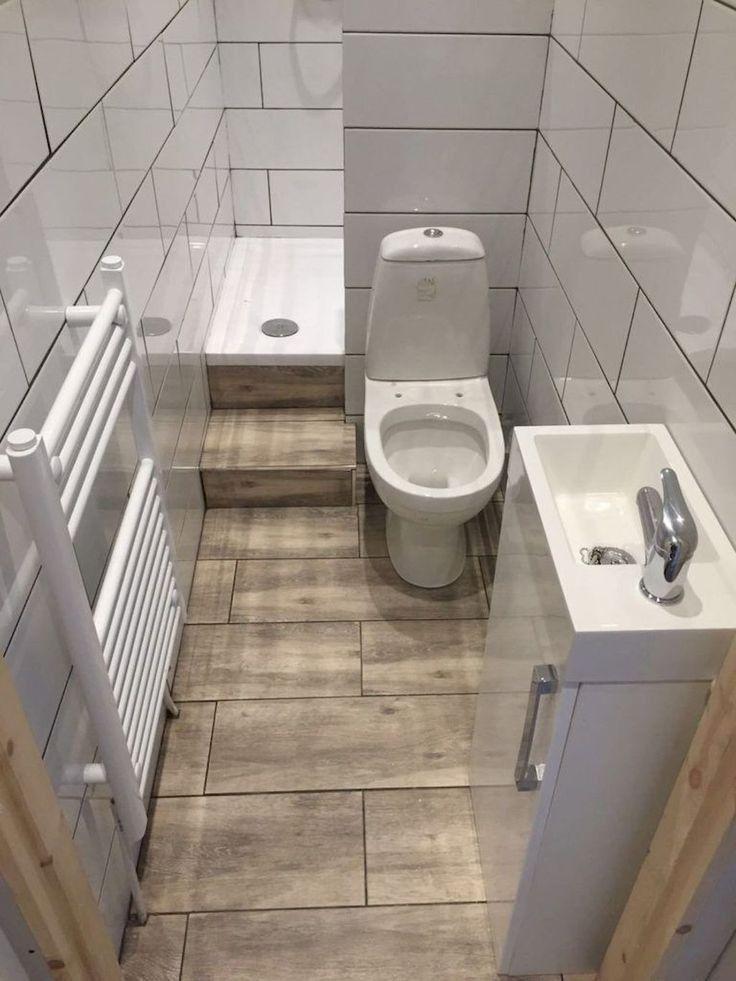33 Wooden Flooring Bathroom Remodel Ideas 24 Small Bathroom Ensuite Shower Room Tiny House Bathroom