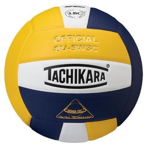 Tachikara Sv5wsc Volleyball Navy White Gold Volleyball Tachikara Volleyball Volleyballs