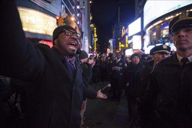 Los policías asesinados tendrán su propia calle en Nueva York