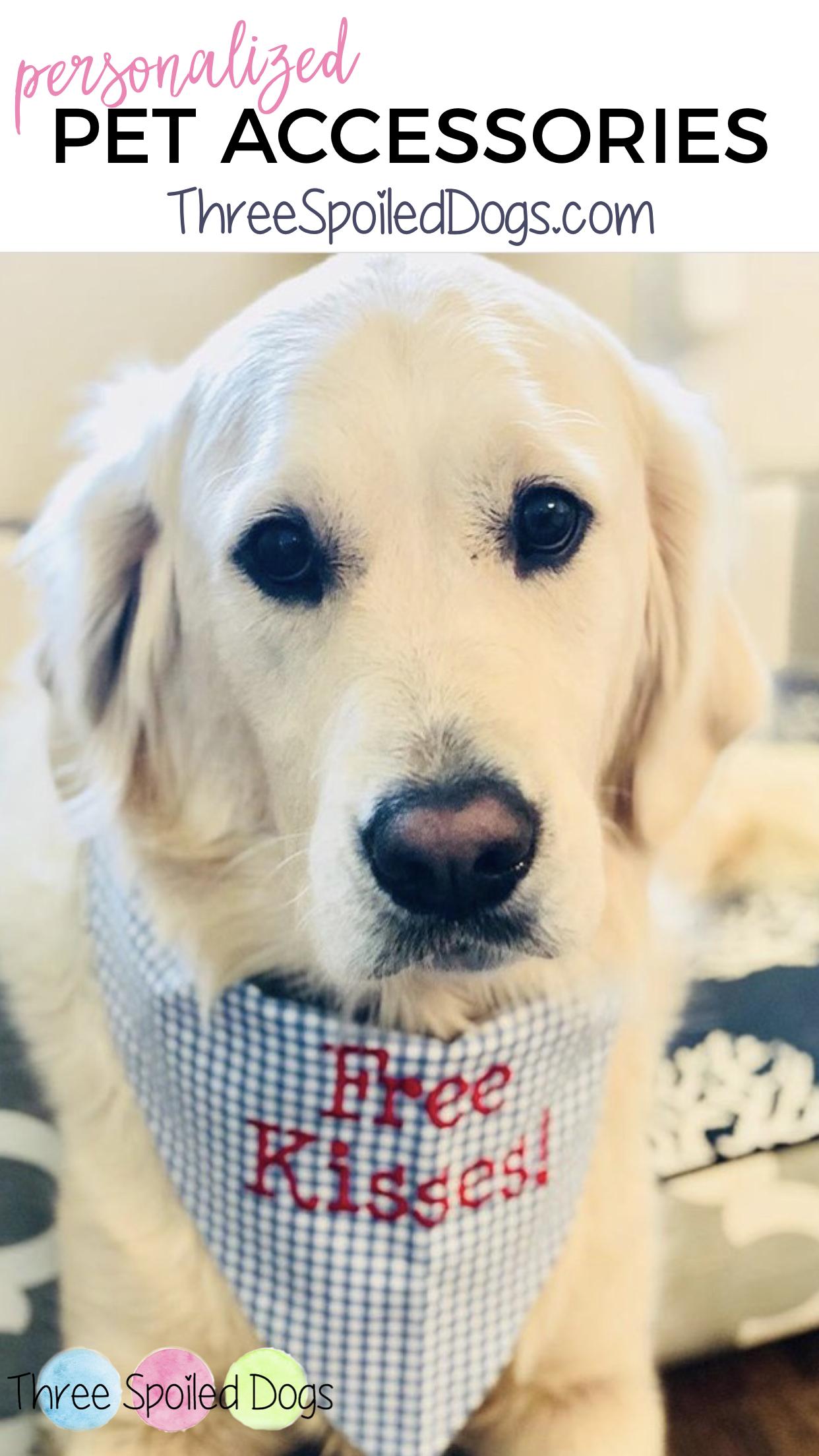 personalized dog bandanas custom