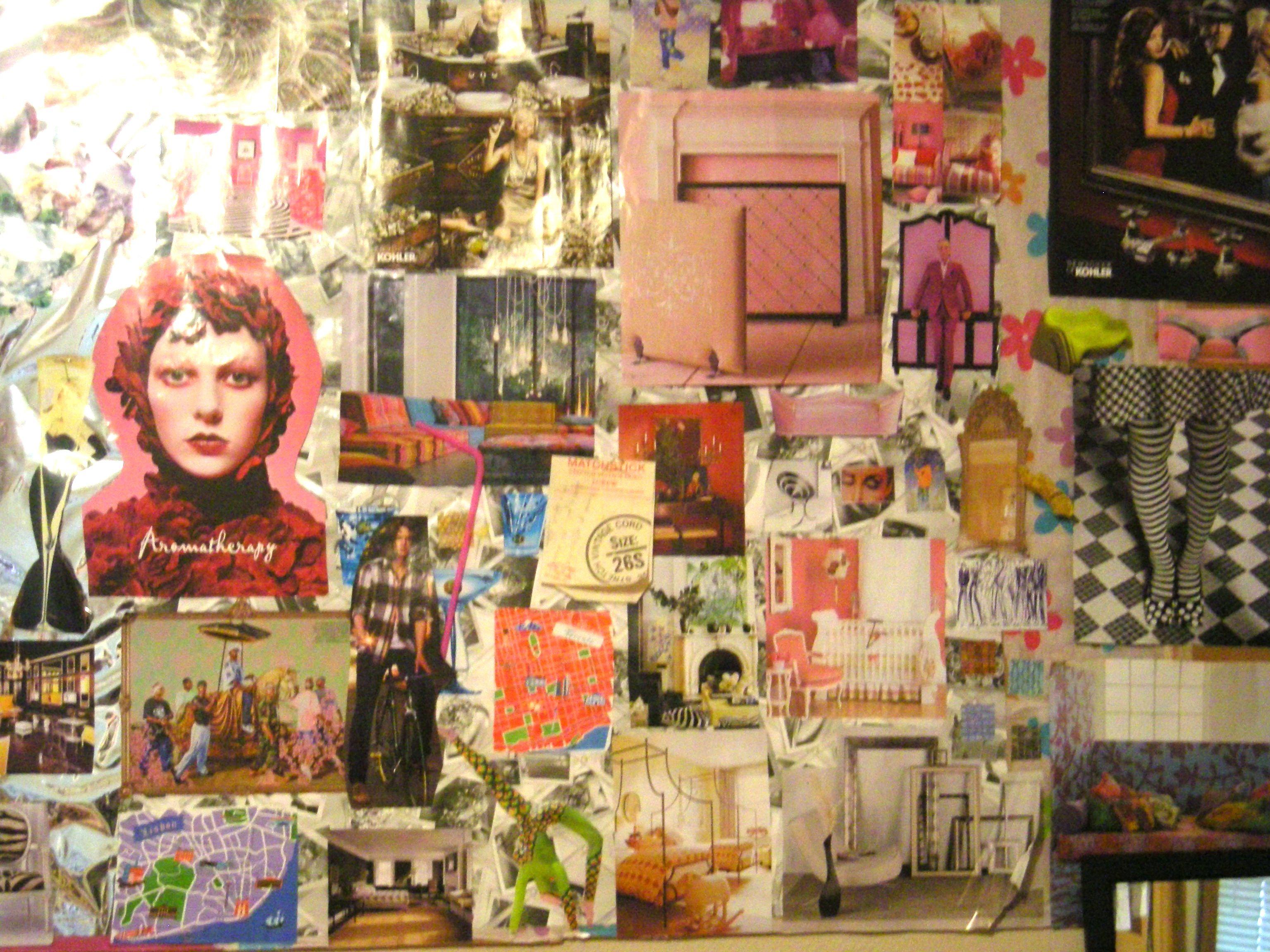 Como hacer arte de collage con recortes de revistas | Pinterest ...