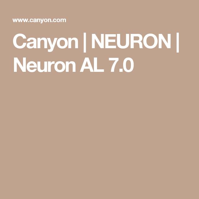 Canyon | NEURON | Neuron AL 7.0