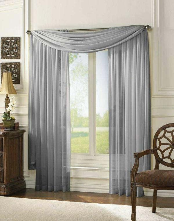 Wohnzimmer Gardinen für eine schön ergänzte Inneneinrichtung - gardinen fürs wohnzimmer
