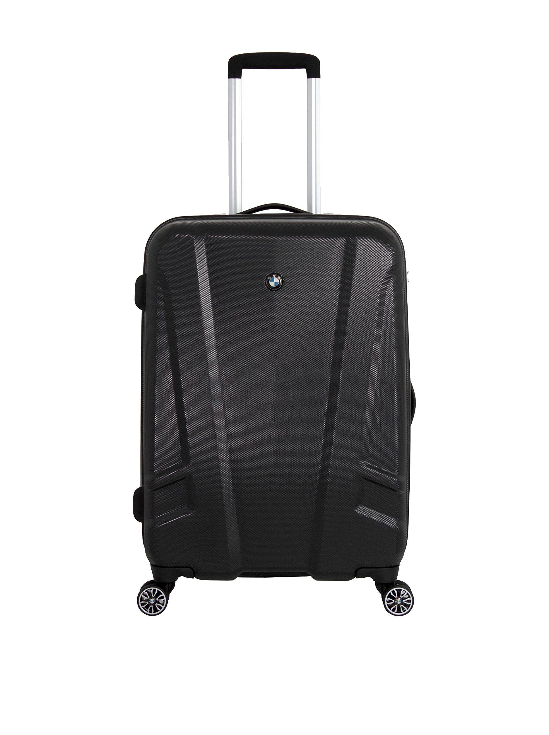 Bmw luggage 23 25 split case 8 wheel spinner black