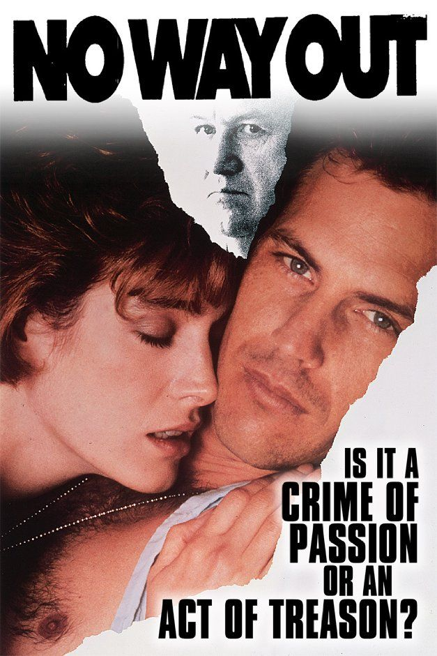 No Way Out 1987 Thrillers Movies Kevin Costner No Way Out