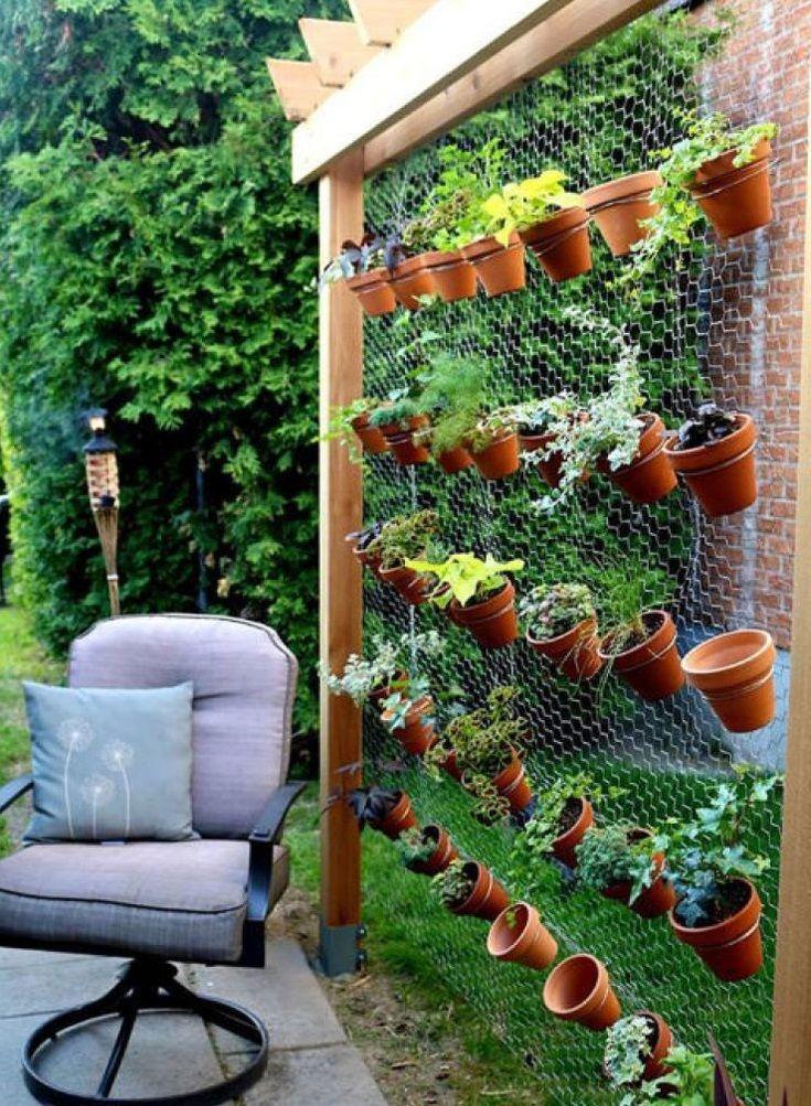 mur végétal simple à réaliser ! #plantes #outils   au bon plaisir