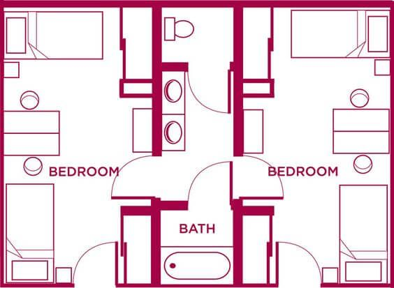 Jack and Jill Bathroom and Its Various Benefits | Bathroom ...
