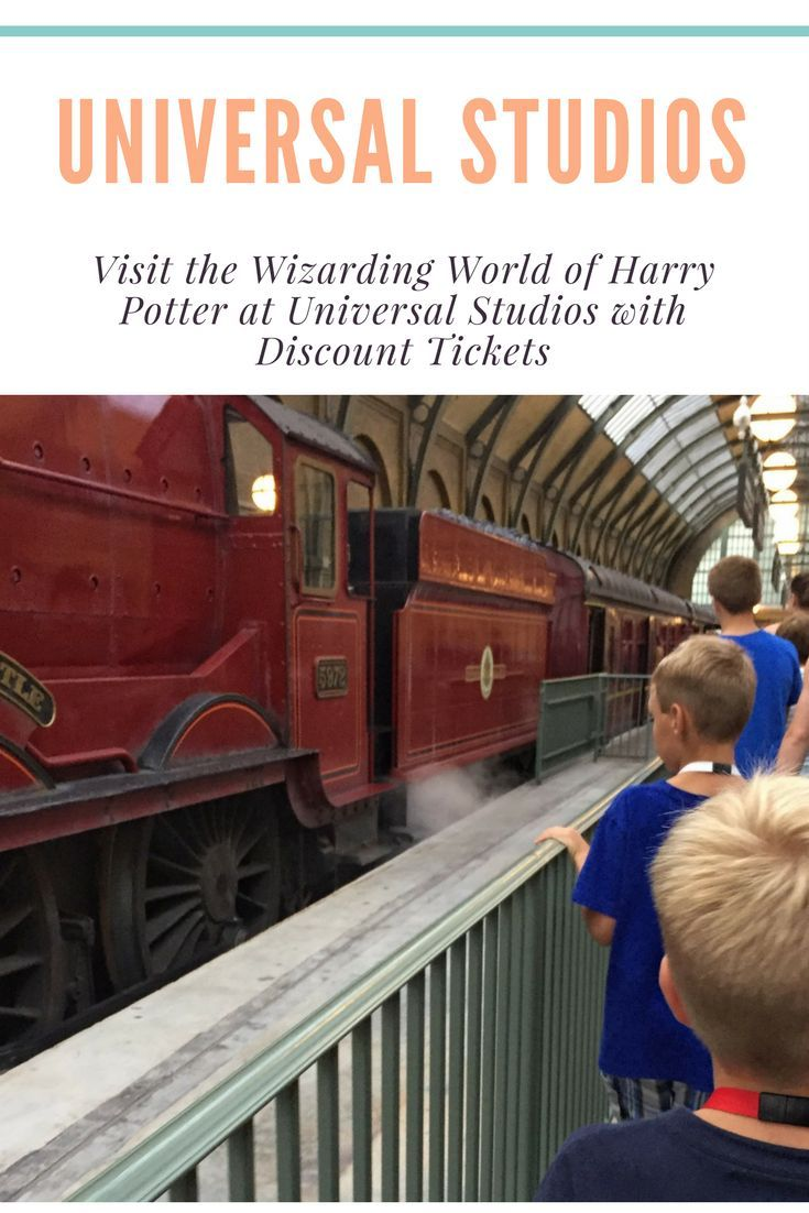 Visit The Wizarding World Of Harry Potter At Universal Studios With Discount Tickets Universal Studios Universal Studios Tickets Universal Studios Florida