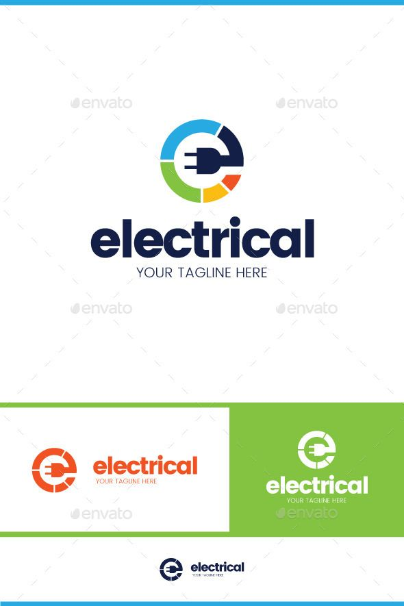 Electrical Logo Template Vector EPS AI Download Here Graphicriver