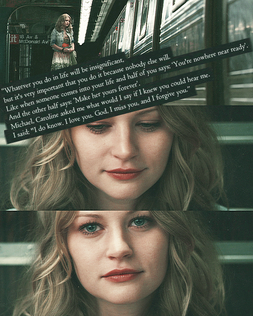 That was a beautiful shot of Emilie in Remember Me