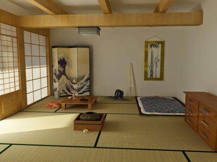 Japanische Deko Idee Die Tatami Matte Fur Den Fussboden