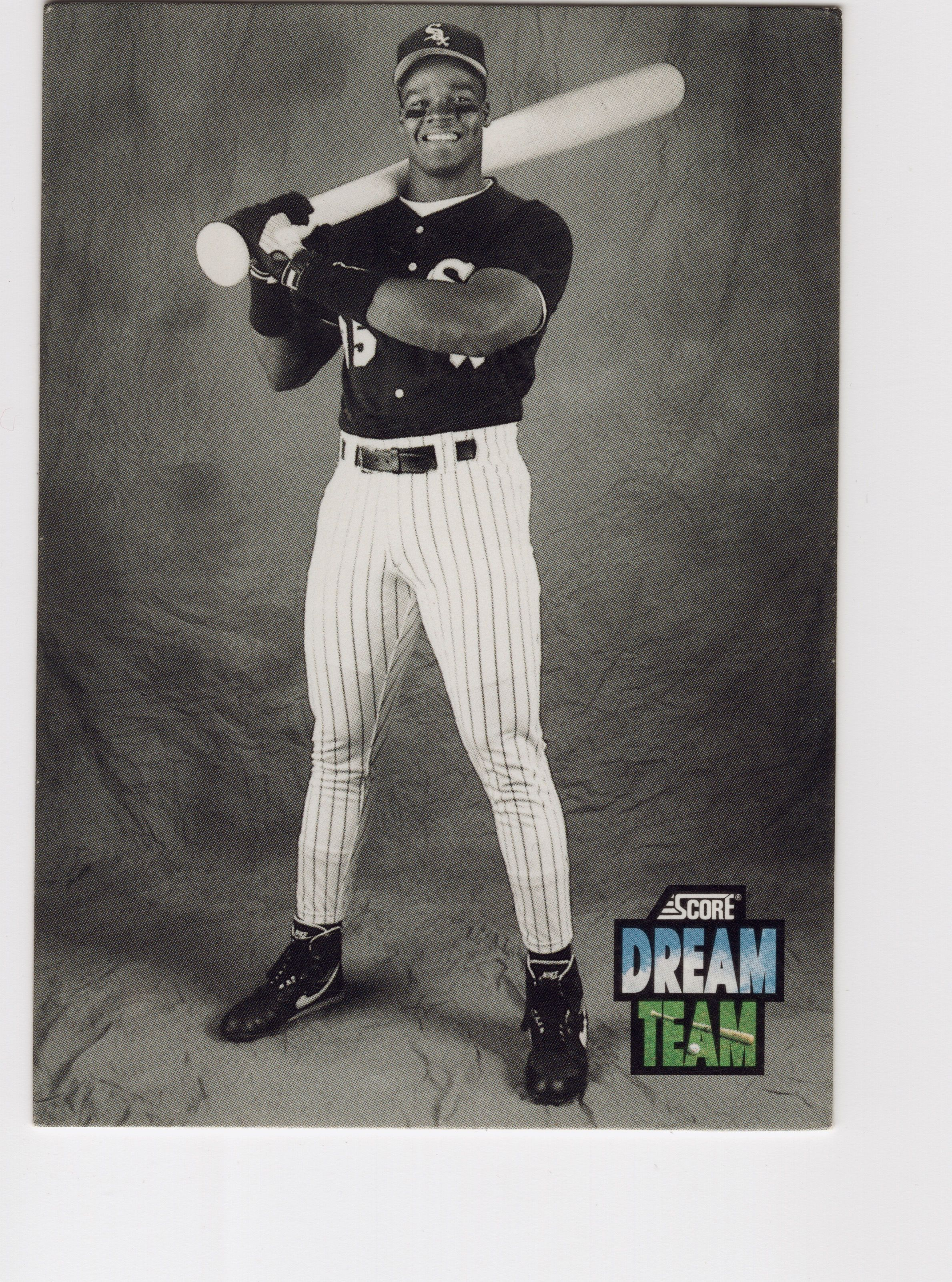 1992 Score Dream Team Frank Thomas 90s Baseball Cards