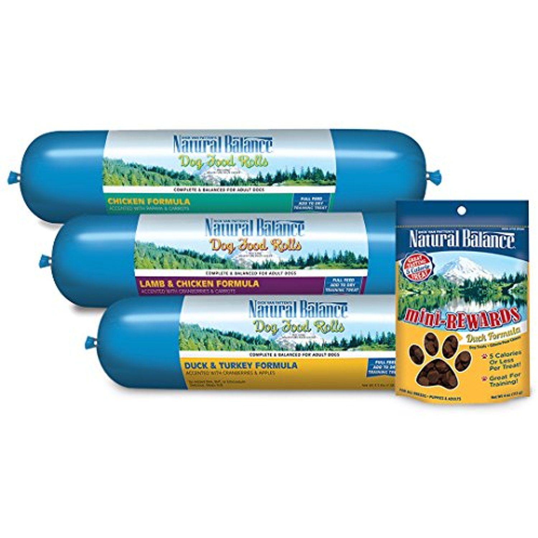 Blue Wilderness Wild Dog Food Rolls In 2 Flavors Chicken And