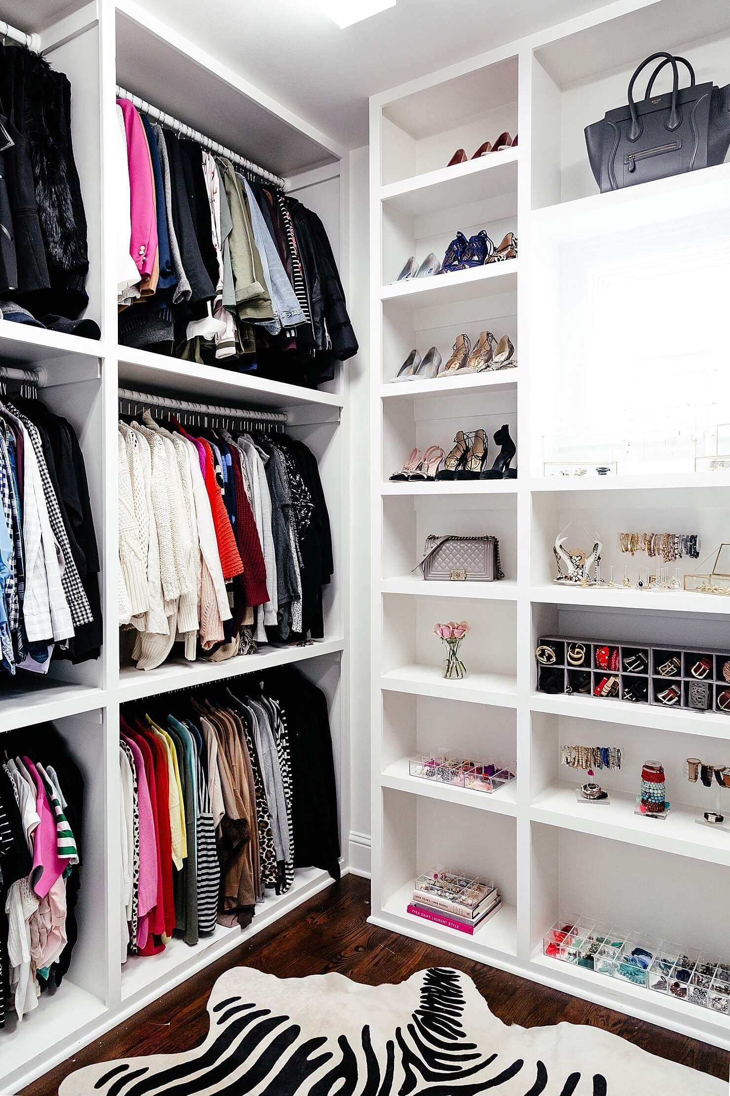 My Closet Reveal | Kleiderschrank ideen, Traumschränke und ...