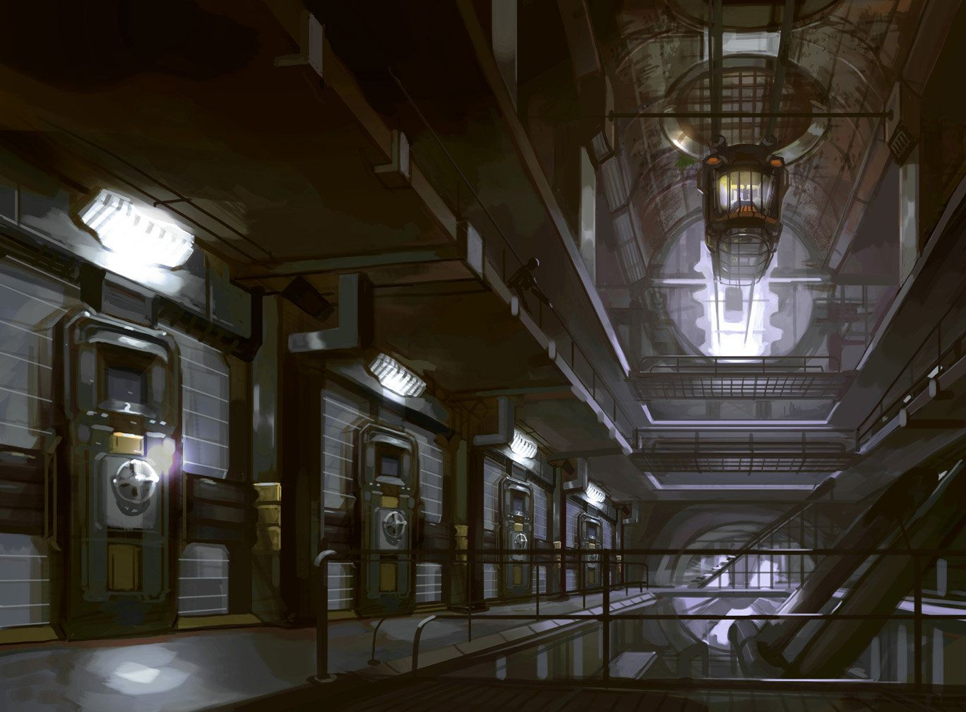 prison sci fi space station - photo #8