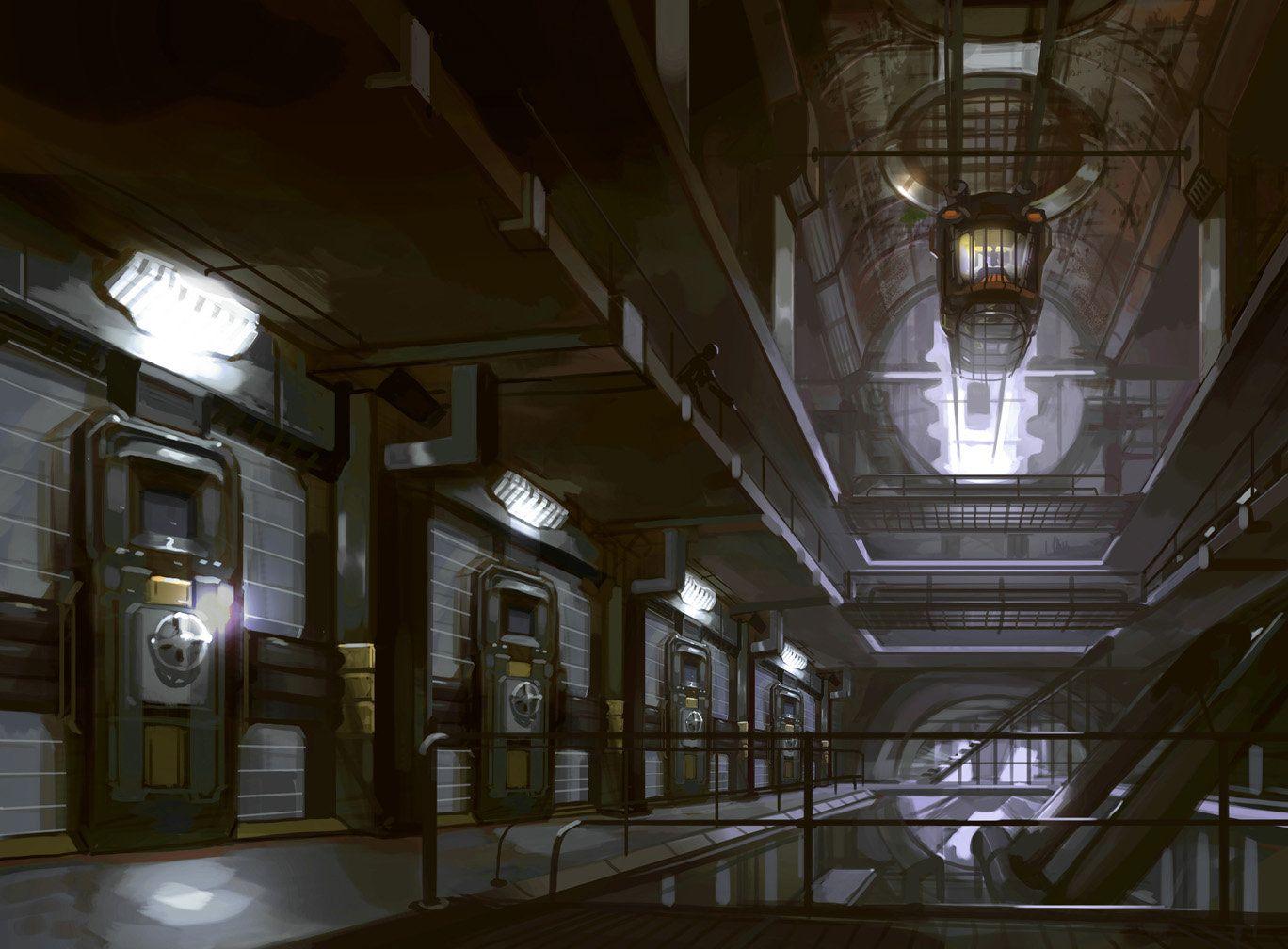 science fiction prison - Sök på Google | writing: sci-fi ...