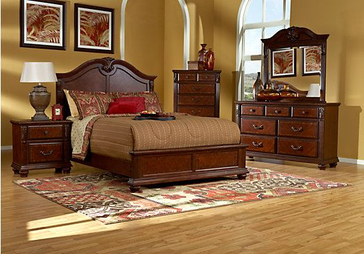 Best Shop For A Gallegos 5 Pc Queen Bedroom At Rooms To Go 640 x 480